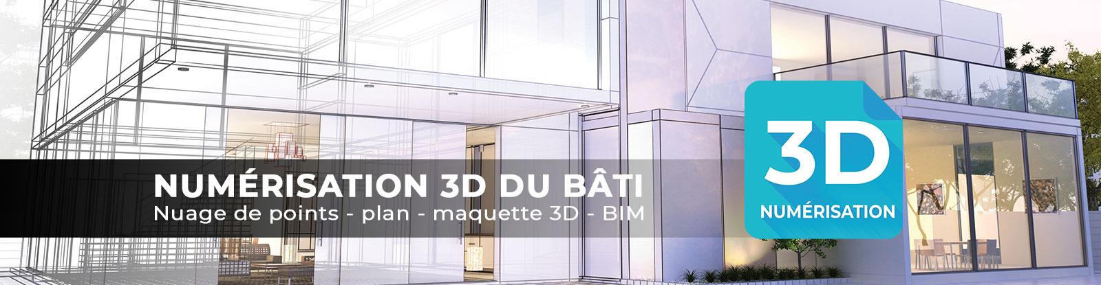 Numérisation 3D - BIM