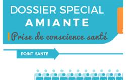 Infographie : Dossier spécial Amiante