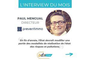 PAUL MENGUAL, directeur de Preventimmo, nous présente nouveautés de l'ERP