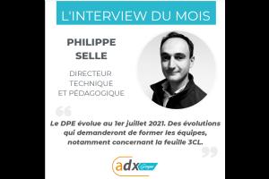L'INTERVIEW DU MOIS : Philippe SELLE, directeur technique