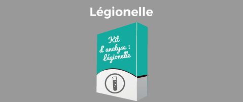 Kit d'analyse Légionelle