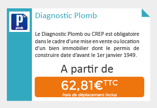 Prix Diagnostic Plomb
