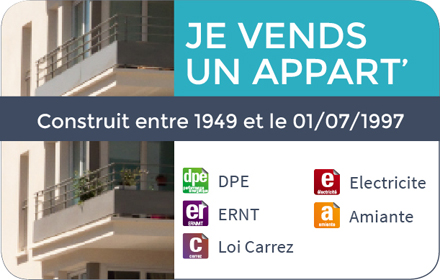 Pack Vente Appartement Récent