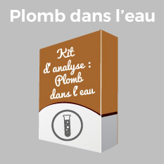 kit analyse plomb eau